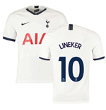 2019-2020 Tottenham Home Nike Football Shirt (LINEKER 10)