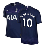 2019-2020 Tottenham Away Nike Football Shirt (Your Name)