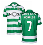 2019-2020 Sporting Lisbon Authentic Home Match Shirt (Ronaldo 7)