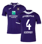 2019-2020 Anderlecht Joma Home Football Shirt (Kompany 4)