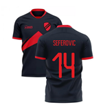 2019-2020 Benfica Away Concept Football Shirt (Seferovic 14)