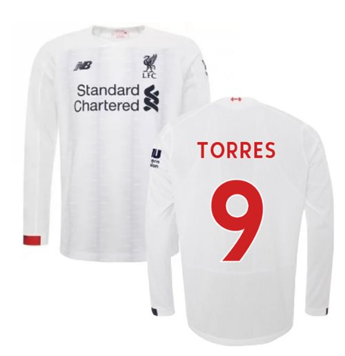 2019-2020 Liverpool Away Long Sleeve Shirt (TORRES 9)