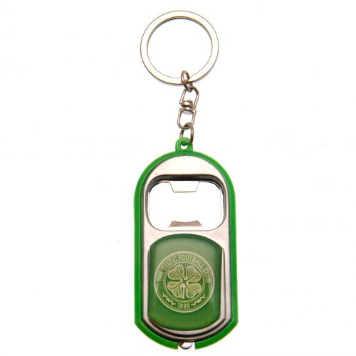 Celtic F.C. Key Ring Torch Bottle Opener