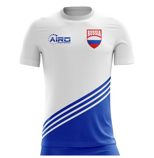 2018-2019 Russia Away Concept Football Shirt - Womens