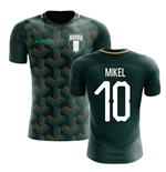 2018-2019 Nigeria Third Concept Football Shirt (Mikel 10)