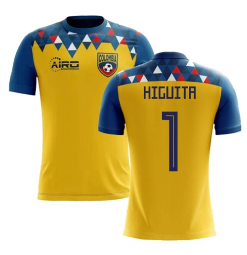 2018-2019 Colombia Concept Football Shirt (Higuita 1)