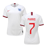 2019-2020 England Home Nike Womens Shirt (Parris 7)