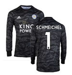 2019-2020 Leicester City Home Goalkeeper Shirt (Kids) (Schmeichel 1)