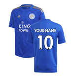 2019-2020 Leicester City Home Football Shirt (Kids) (Your Name)