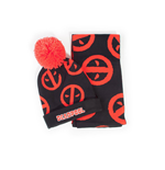 Marvel Beanie & Scarf Set Deadpool