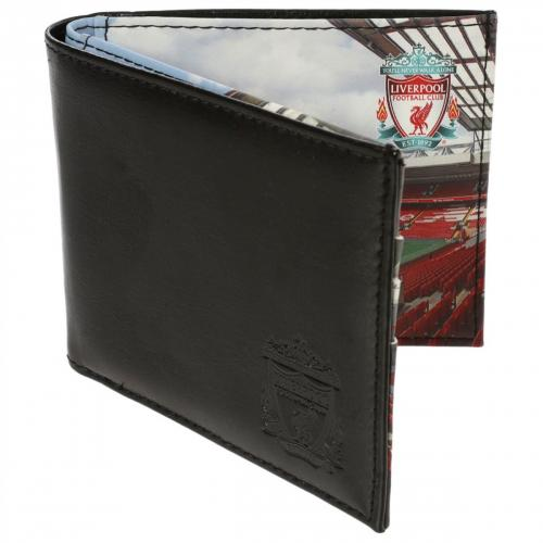 Liverpool F.C. Stadium Leather Wallet