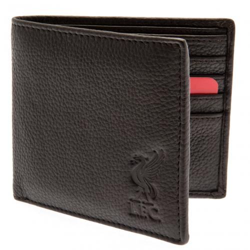 Liverpool F.C. Brown Leather Wallet