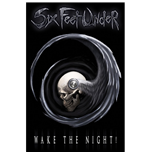 Six Feet Under Textile Poster: Wake The Night