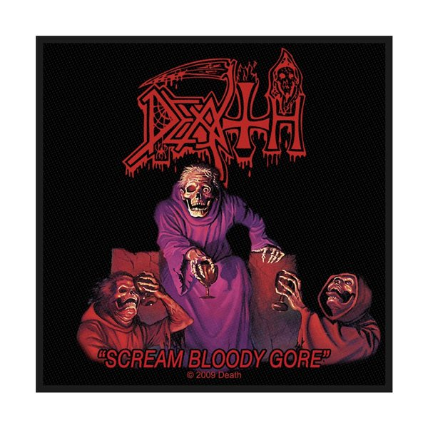 Death Patch Scream Bloody Gore