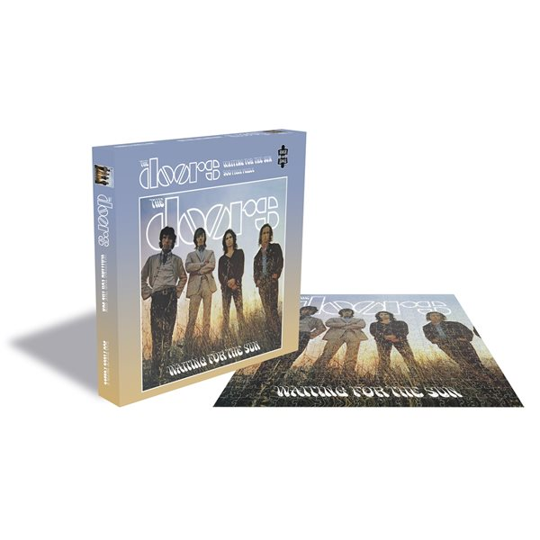 The Doors Puzzle Waiting For The Sun (500 Piece Jigsaw PUZZLE)