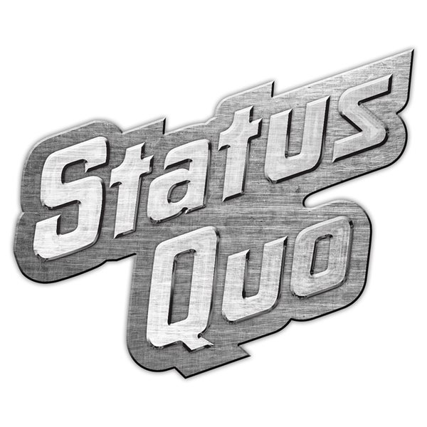 Status Quo Badge Logo (metal Pin BADGE)