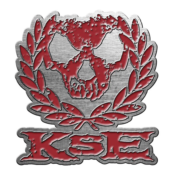 Killswitch Engage Badge Skull Wreath (metal Pin BADGE)