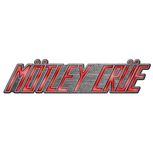 Motley Crue Badge Logo (metal Pin BADGE)
