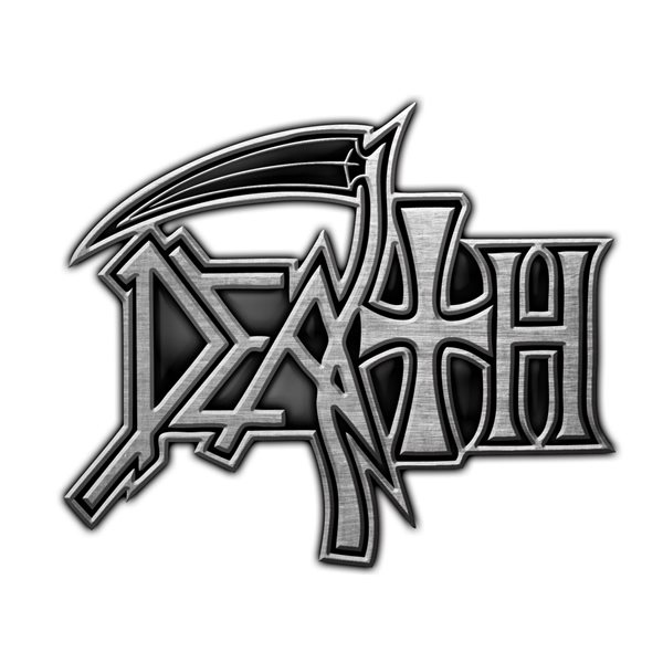 Death Badge Logo (metal Pin BADGE)