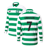 2019-2020 Celtic Home Long Sleeve Shirt Kids (Larsson 7)