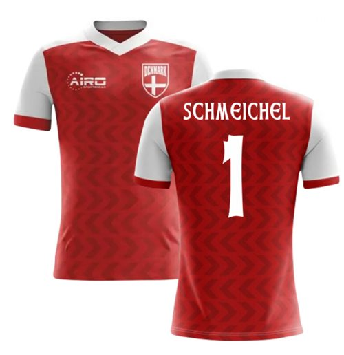 2018-2019 Denmark Home Concept Football Shirt (Schmeichel 1)