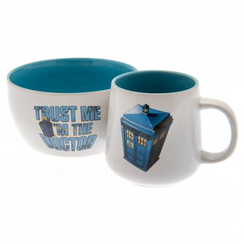 Doctor Who Breakfast Set