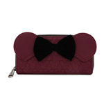 Disney by Loungefly Wallet Dark Red Mickey Mouse
