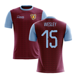 2019-2020 Villa Home Concept Football Shirt (Wesley 15)