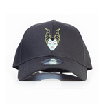 DISNEY Maleficent 2 Maleficent Character Face Adjustable Cap, Unisex, Black