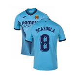 2019-2020 Villarreal Joma Third Football Shirt (S Cazorla 8)