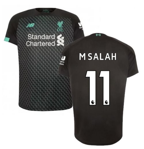 2019-2020 Liverpool Third Football Shirt (M Salah 11)