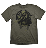 CALL OF DUTY Soldier in Focus T-Shirt, Male, Large, Green