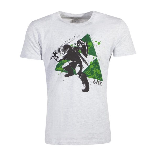 Zelda - Splatter Triforce Men's T-shirt