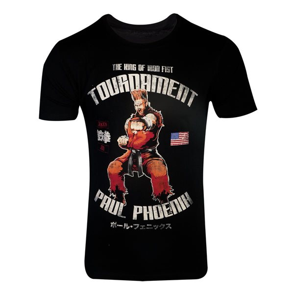 Tekken - Paul Phoenix Men's T-shirt