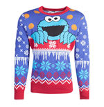 Sesamestreet - Cookiemonster Knitted Unisex Jumper