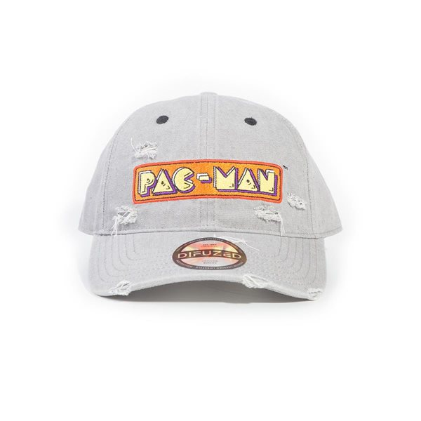 Pac-man - Logo Denim Adjustable Cap