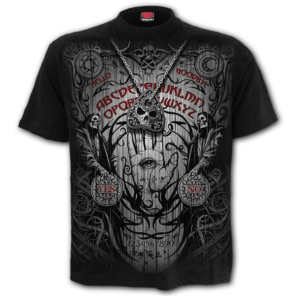 Spirit Board - T-Shirt Black