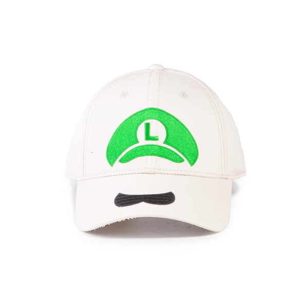 Nintendo - Super Mario Luigi Icon Adjustable Cap