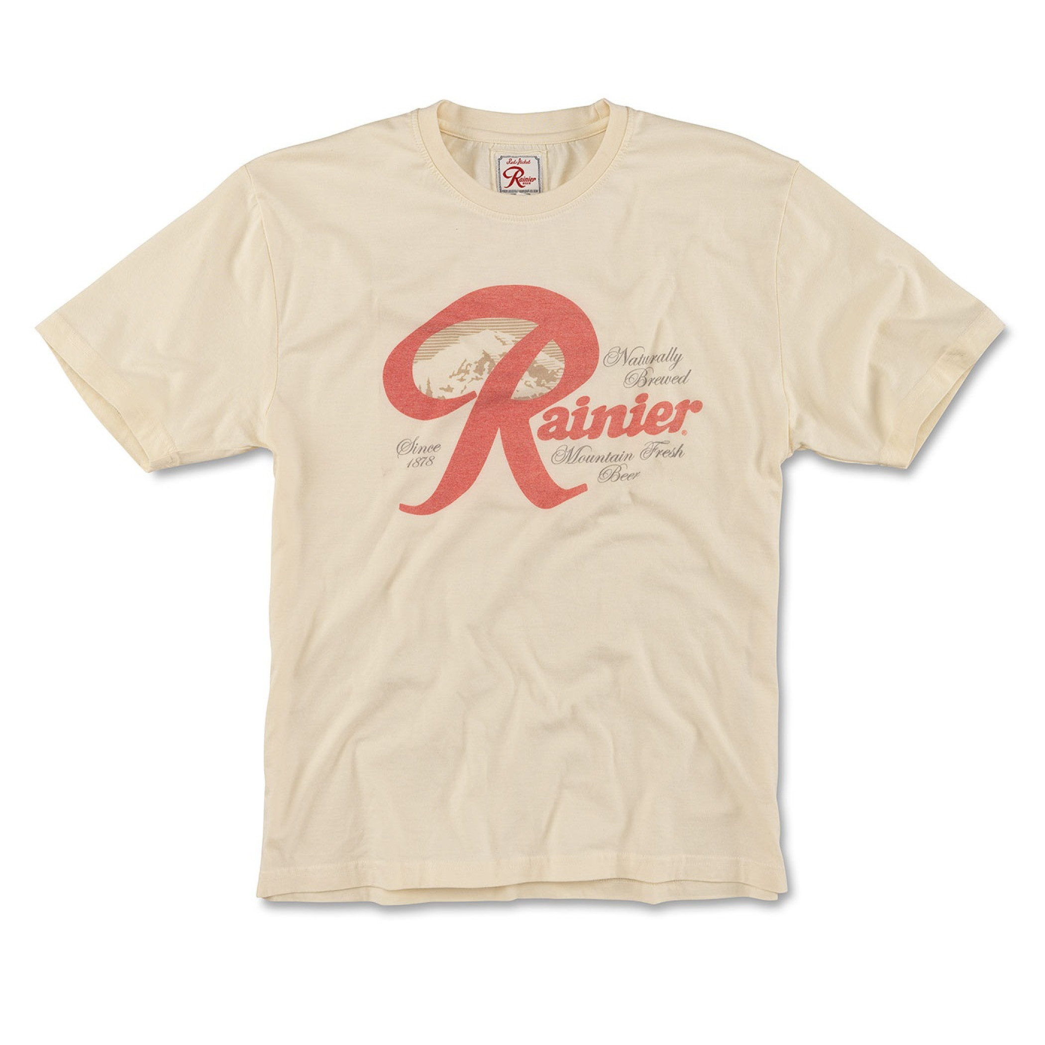 Rainier Beer Faded Logo T-Shirt