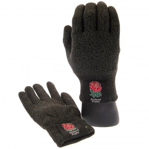 England RFU Luxury Touchscreen Gloves Adult