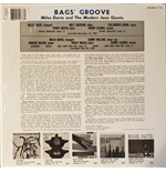 Vynil Miles Davis - Bags' Groove (Translucent Blue Vinyl, Limited To 500)