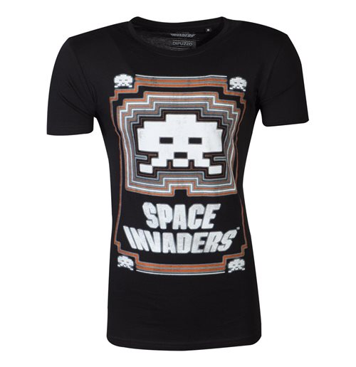 Space Invaders T-shirt 374445
