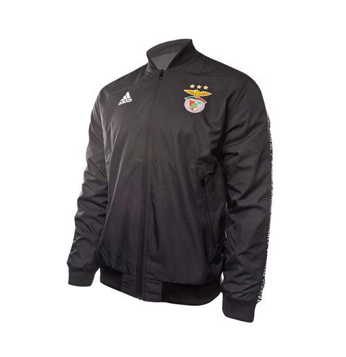 2019-2020 Benfica Adidas Anthem Jacket (Black)