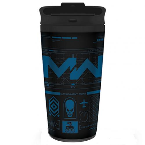 Call Of Duty Modern Warfare Metal Travel Mug