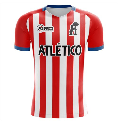 2019-2020 Atletico Concept Training Shirt (Red-White)