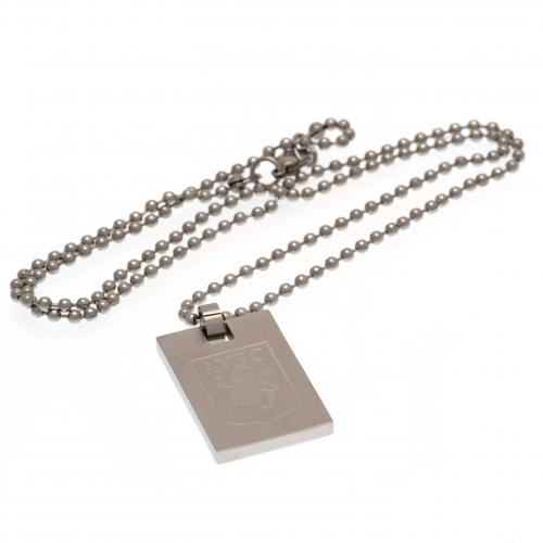 Aston Villa FC Dog Tag & Chain