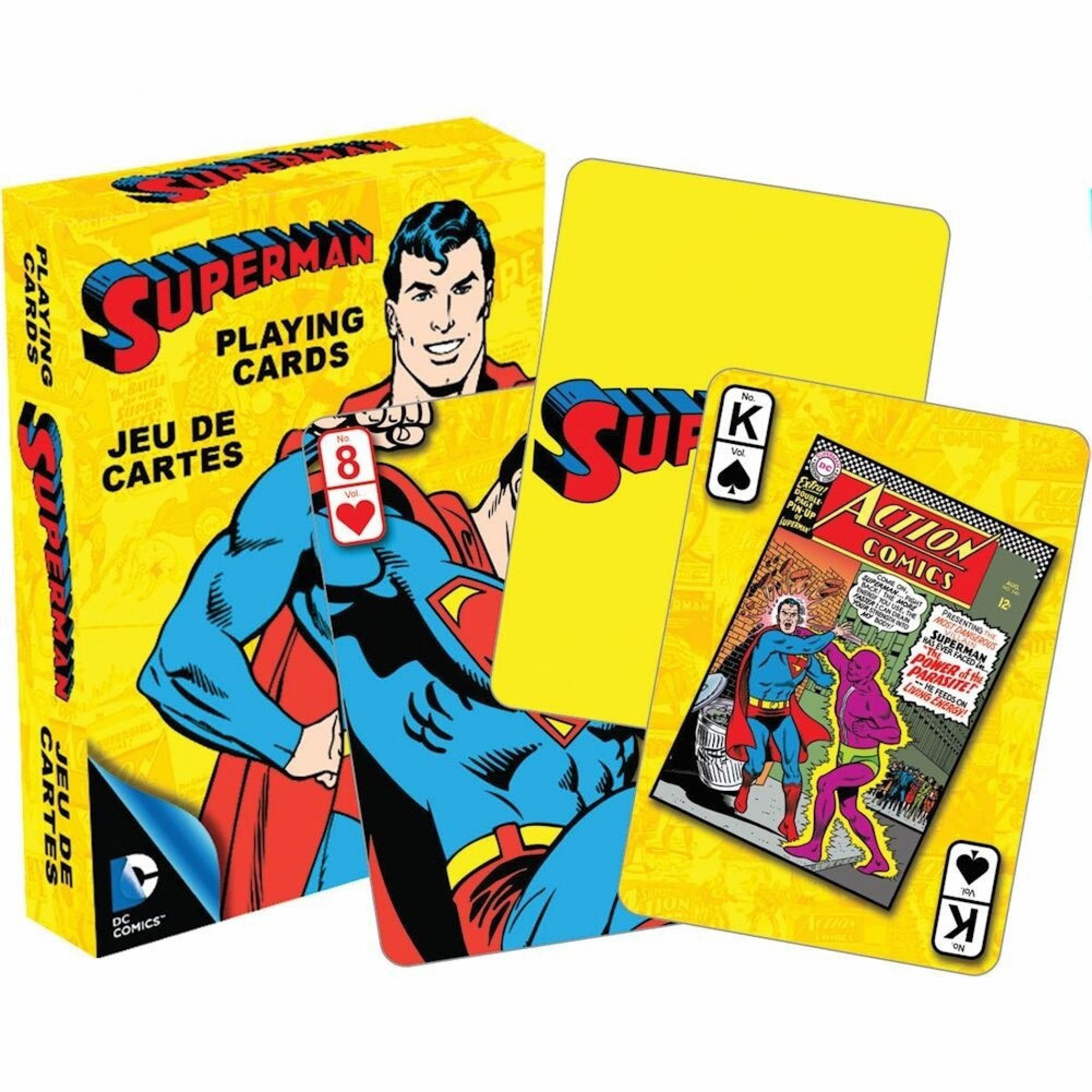 Superman Retro Playing Cards