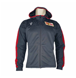 2019-2020 Union Berlin Macron Hooded Anthem Jacket (Grey)