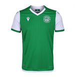 2019-2020 Hibernian Macron Home Football Shirt