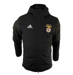 2019-2020 Benfica Adidas Winter Jacket (Black)